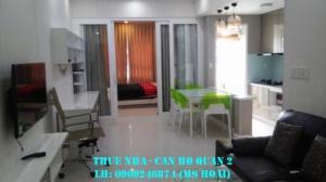 Cho thuê căn hộ chung cư Masteri Thảo Điền, quận 2, Hồ Chí Minh. 3 Phòng ngủ, đầy đủ nội thất.