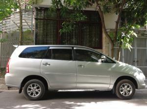 Bán xe Innova 2.0G màu bạc sx cuối 2007 đăng...