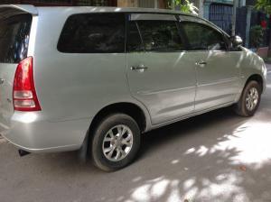 Bán xe Innova 2.0G màu bạc sx cuối 2007 đăng ký chính chủ gđ sử dụng ít