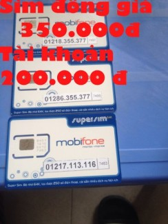 Sim đẹp Mobilephone có sẵn 200.000 đ