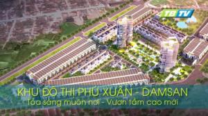 Khu đô thị DamSan Phú Xuân - thành phố Thái Bình