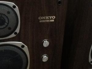 Bán chuyên Loa Onkyo Monnitor 2000 hàng bãi tuyễn chọn từ nhật về , đẹp .
