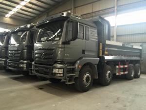 Xe ben shacman 4 chân có tổng tải trọng 30 tấn, máy 340hp hãng Weichai nhập khẩu nguyên chiếc.