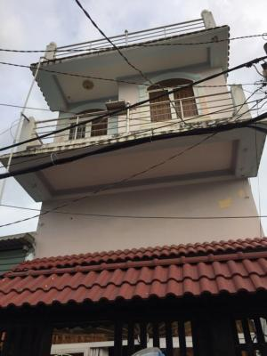 Bán nhà kinh doanh được, đường Huỳnh Tấn Phát, Nhà Bè, DT 4x14m 1 trệt 1 lửng 1 lầu. Giá chỉ 1.35 tỷ.