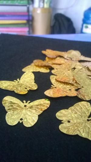 Nguyên liệu làm cây cành vàng lá ngọc