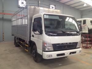Xe tải mitshubishi canter 8.2 tải trọng 5T, xe tải Mitshu 5T thùng mui bạt