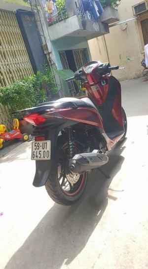 Shvn 150cc cuối 2014 đỏ đen sporty