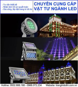 Bán sỉ lẻ các sản phẩm trang trí về led tại Hà Nội