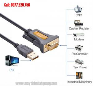 Cáp USB to RS232 dài 2m Ugreen 20222