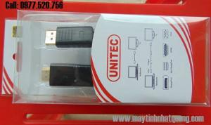 Cáp Display Port to HDMI Unitec 5118 dài 1.8m