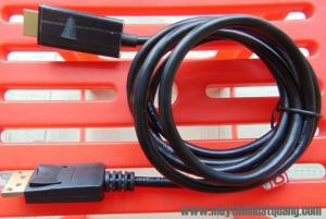 Dây cáp Display port to hdmi Unitec 5118