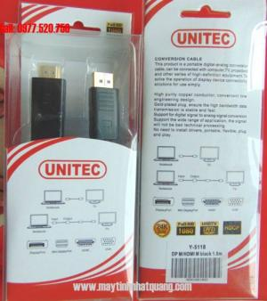 Cáp Display Port to HDMI 5118 dài 1.8m
