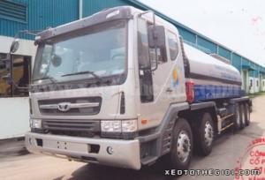 Xe Xitec Daewoo P9CVF chở xăng dầu 25.000 lít