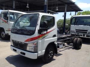 Xe tải fuso canter 4.7, động cơ mạnh mẽ, nội thất tiện nghi, giá ưu đãi cuối năm