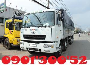 Xe tải CAMC sử dụng hệ thống khung gầm, cabin được chuyển giao công nghệ của Fuso Nhật Bản.