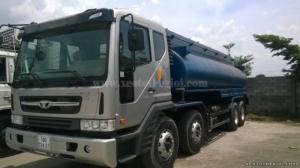 Xe Daewoo M9AEF chở xăng dầu thể tích bồn chứa 22 m3, có sẵn giao ngay