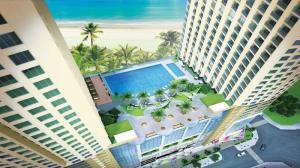 Căn hộ Goldcoast Nha Trang 2PN diện tích 70m2, view trực diện biển_ vị trí đẹp nhất dự án.