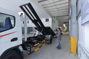 Xe chở xe Mitsubishi Fuso Canter 8.2 tải trọng 3T490, chạy bằng lái B2