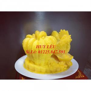 Nến Phật Thủ Gà Vàng Kim Kê