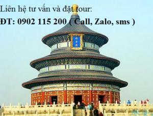 Tour du lịch Hà Nội - Bắc Kinh - Thượng Hải 5...