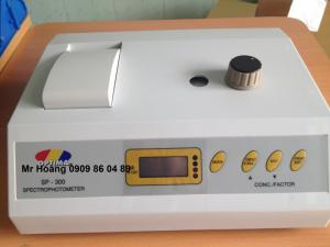 Máy quang phổ SP-300, Japan