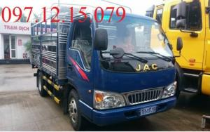 xe tải 1.49 tấn thùng mui phủ bạt màu xanh bán tại hà nam