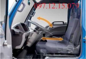 xe tải 1.49 tấn thiết kế phù hợp với người lái, tối ưu hóa vị trí lái xe