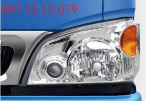 xe tải 1.49 tấn trang bị hệ thống đèn siêu sáng