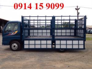 Cần bán xe tải Thaco Ollin500B thùng kín, mui bạt tải trọng 5 tấn, có bán trả góp