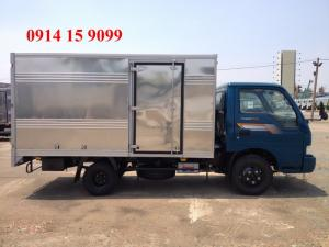 Cần bán xe tải KIA K165S 2017 thùng kín, mui bạt tải trọng 2,3/2,4 tấn vào đường thành phố