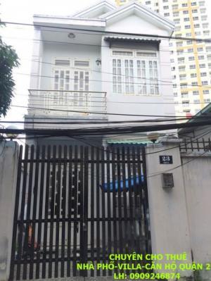 Cho thuê nhà Đường số 65 Thảo Điền, 7x20m,...