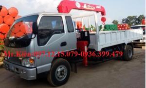 Xe tải cẩu 3, 5, 7 tấn soosan, unic...