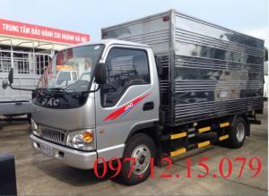 xe tải 5 tấn thùng kín dài 5.3m, tải trọng 4.9 tấn,