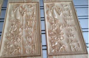 Máy cnc 1325-4 đầu đục, máy cnc chạm khắc gỗ, máy cnc cắt khắc quảng cáo,máy đục gỗ vi tính