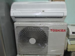 Máy lạnh TOSHIBA 1HP còn mới đẹp ,rẽ,sài siêu bền.