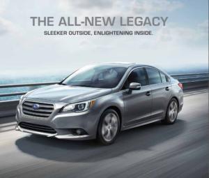 Xe Subaru Legacy 2017 dòng xe Sedan 5 chỗ, máy xăng, số tự động