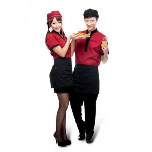 May Đồng phục lễ tân nhà hàng