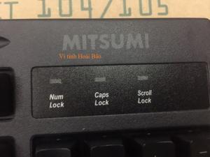 Bàn phím chính hãng Mitsumi tiếng Trung – Việt tại Zen's Group linh phụ kiện sỉ lẻ