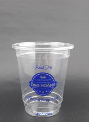Ly nhựa cao cấp dùng kinh doanh thức uống