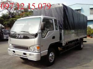 xe tải 7 tấn thùng mui phủ bạt màu bạc