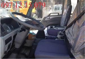 xe tải 7 tấn nội thất bên trong xe