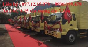 lễ bàn giao 20 xe tải 8  tấn cho cty vận tải bình minh
