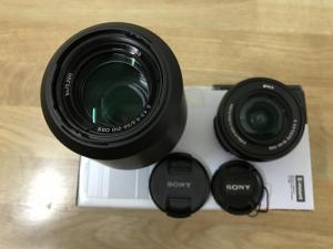 Cần thanh lý Lends Sony E 55-210mm F4.5-6.3 oss và E 16-50