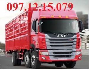 xe tải 3 chân thùng cáo 4 m chơ xe máy hoặc chở lợn thùng dài 8.8m