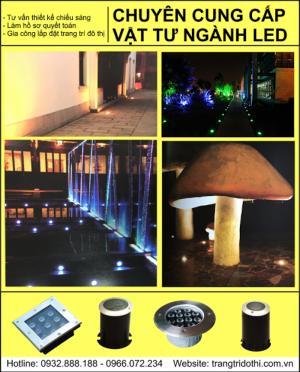 Đèn led trang trí cầu và tòa nhà ngoài trời chất lượng cao