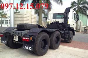 xe đầu kéo 2 cầu 380 Hp tại chị nhánh JAC Hà Nội