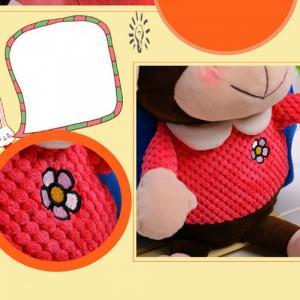 Balo trẻ em, balo cho bé, balo vải nhung hình thú bông