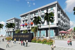 Dự án aloha beach village sẽ ra mắt ngày 15/1/2017