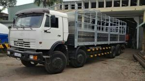 Tải thùng Kamaz 6540 thùng 9m mới 2016