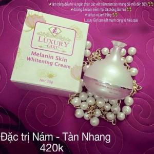 Kem Trị Nám Luxury Girl – Melanin Skin Whitening Cream